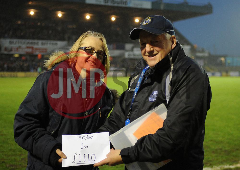 50/50 - Mandatory by-line: Neil Brookman/JMP - 10/12/2016 - FOOTBALL - Memorial Stadium - Bristol, England - Bristol Rovers v Bury - Sky Bet League One