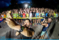 Uros Bitenc at 10th Nocna 10ka 2016, traditional run around Bled's lake, on July 09, 2016 in Bled,  Slovenia. Photo by Vid Ponikvar / Sportida