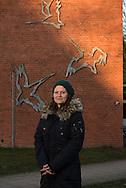 Jessica Reifegerste (Dipl.-Sozialpädagogin) Haus der Jugend Kiwittsmoor für Ver.di publik. Foto: Mauricio Bustamante