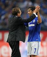Fussball Bundesliga 2011/12: FC Schalke 04 - Borussia Moenchengladbach