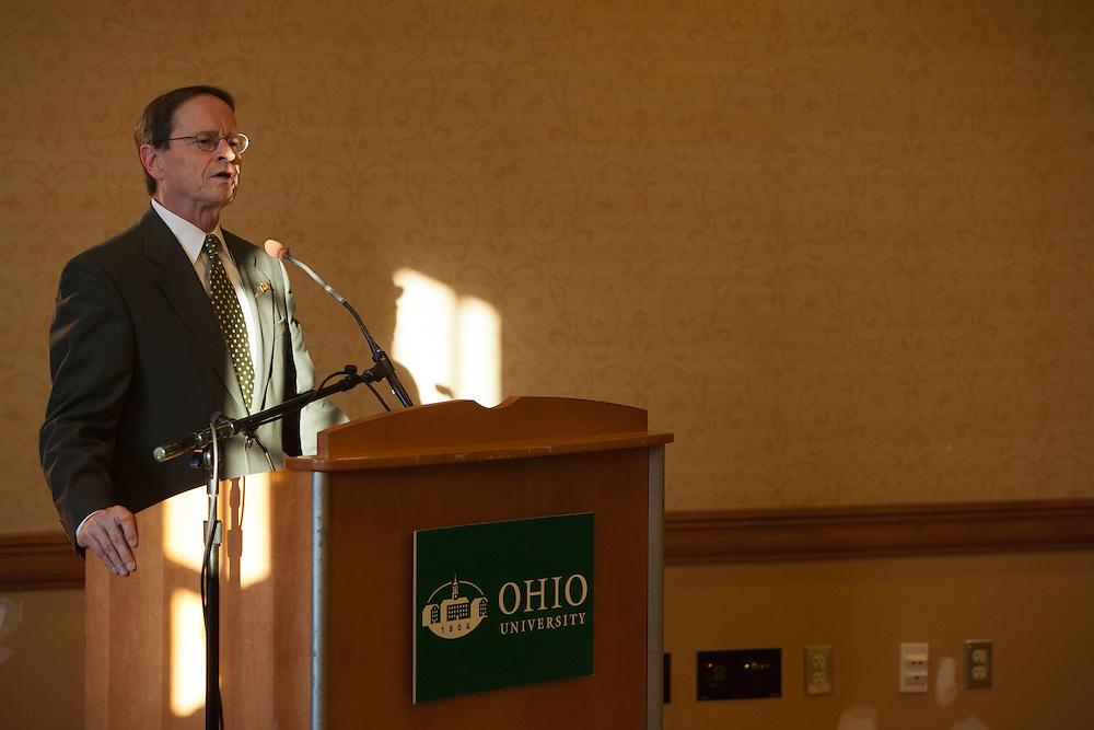 Dr. David Descutner at the Black Alumni Reunion Welcome Reception at Baker Center on September 27, 2013. at Baker Center on September 27, 2013.