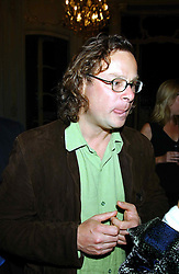 Chef HUGH FEARNLEY WHITTINGSTALL at a party to celebrate the publication of 'Princesses' the six daughters of George 111 by Flora Fraser held at the Saville Club, Brook Street, London W1 on 14th September 2004.<br /><br />NON EXCLUSIVE - WORLD RIGHTS