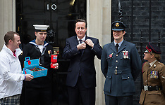 OCT 23 2014 PM to mark launch of 2014 Royal British Legion Poppy appeal