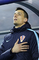 ZAGREB, CROATIA - NOVEMBER 09: Portrait of Lovre Kalinic of Croatia during the FIFA 2018 World Cup Qualifier play-off first leg match between Croatia and Greece at Maksimir Stadium on November 9, 2017 in Zagreb, Croatia. (Luka Stanzl/PIXSELL)