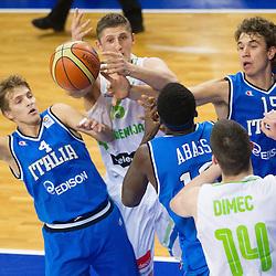 20120712: SLO, Basketball - U20 European Championship Men Slovenia 2012, Slovenia vs Italy
