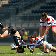 Lindenwood University play Arkansas State in the Cup quarter finals of the 2017 Penn Mutual Collegiate Rugby Championship at Talen Energy Stadium in Philadelphia. June 4, 2017. <br /> <br /> By Jack Megaw.<br /> <br /> www.jackmegaw.com<br /> <br /> jack@jackmegaw.com<br /> @jackmegawphoto<br /> [US] +1 610.764.3094<br /> [UK] +44 07481 764811