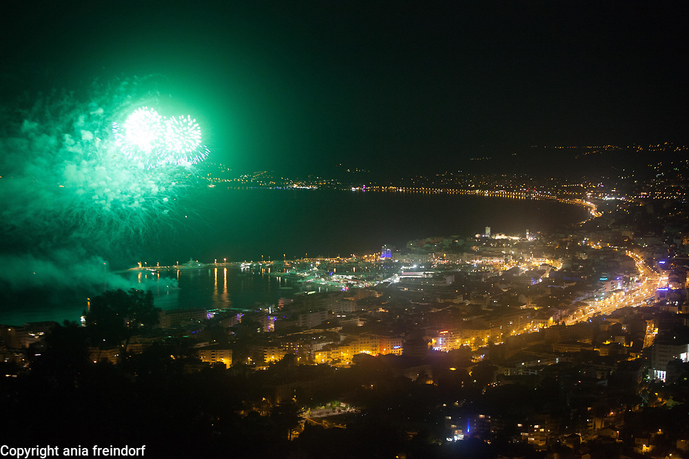 Cannes 70 Film Festival, France, 2017, closing ceremony, fireworks