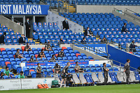 Football - 2019 / 2020 Sky Bet EFL Championship - Cardiff City vs. Leeds United<br /> <br /> directors box & away bench in a match played with no fans after the cover 19 pandemic,, at Cardiff City Stadium.<br /> <br /> COLORSPORT/WINSTON BYNORTH