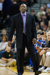 October 29, 2010; Oakland, CA, USA;  Golden State Warriors head coach Keith Smart during the first quarter against the Los Angeles Clippers at Oracle Arena.