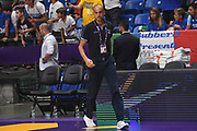 Matteo Panichi<br /> Nazionale Italiana Maschile Senior<br /> Eurobasket 2017 - Group Phase<br /> Italia Germania Italy Germany<br /> FIP 2017<br /> Tel Aviv, 05/09/2017<br /> Foto M.Ceretti / Ciamillo - Castoria