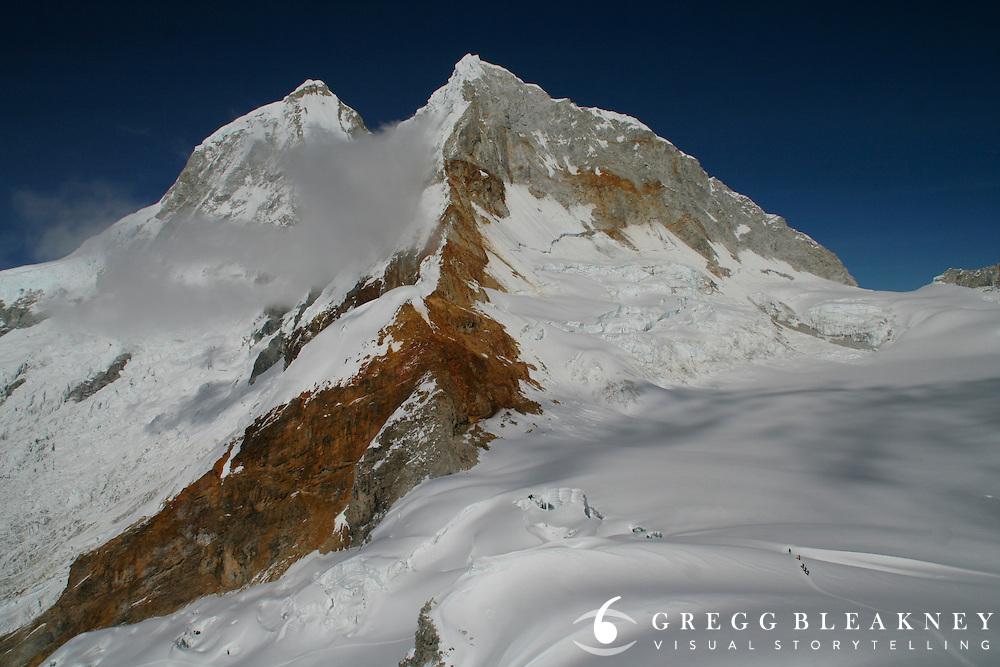 Climbing trip to summit Mt. Pisco  - Peruvian Andes (Cordillera Blanca)