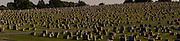 Americana, large graveyard panorama, Lancaster Co. PA