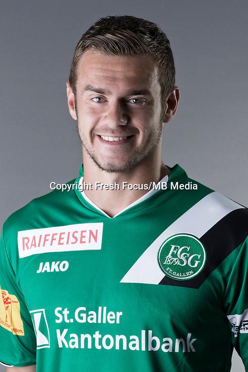 10.07.2013; St.Gallen; Fussball Super League - Portrait FC St.Gallen; <br />Ivan Martic<br />(HO/freshfocus)