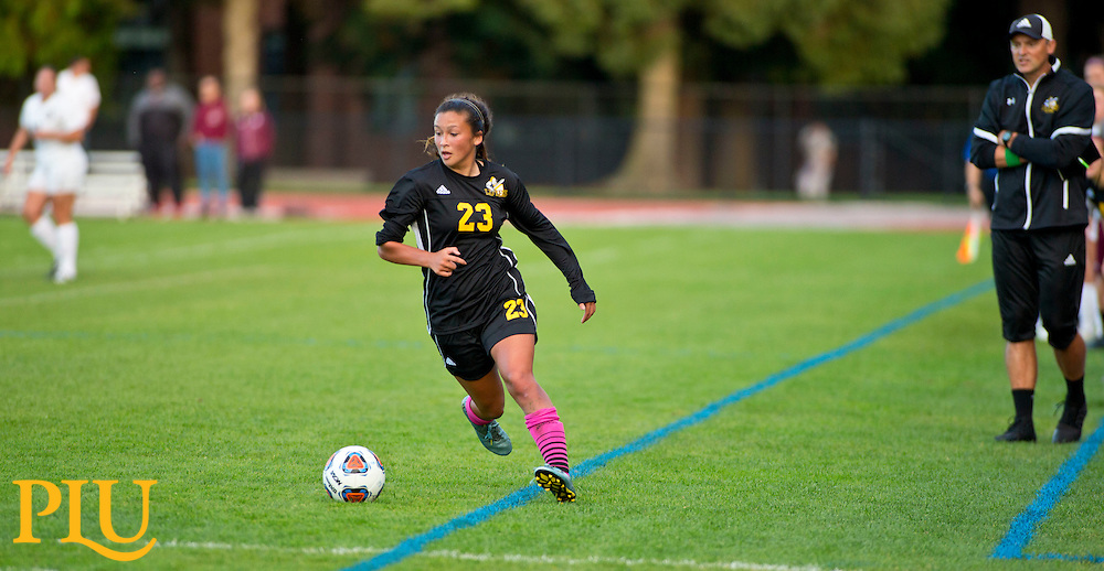 PLU UPS women's soccer game in Tacoma, Wednesday, Oct. 5, 2016. (Photo: John Froschauer/PLU)