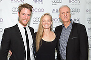 Jake McDorman, Suzy Amis Cameron, and James Cameron
