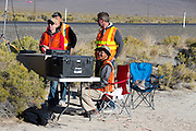 De zesde racedag van de WHPSC. In de buurt van Battle Mountain, Nevada, strijden van 10 tot en met 15 september 2012 verschillende teams om het wereldrecord fietsen tijdens de World Human Powered Speed Challenge. Het huidige record is 133 km/h.<br />