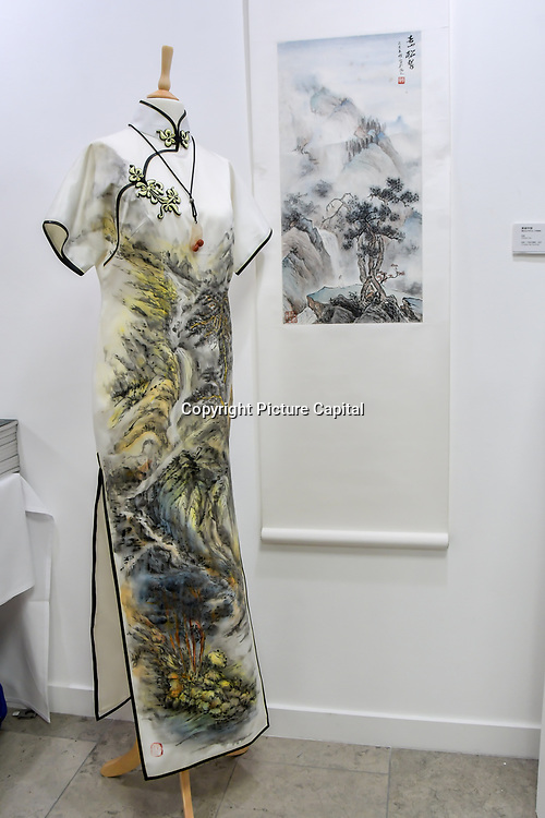 Beautiful China by Zheng Hui I Chinese Ink Painting exhibition at Amazing China: A Multidisciplinary Exhibition of Chinese Arts and Crafts host by National base of International Cultural Trade (Shanghai) on 10 May 2019, at The Hospital Club 24 Endell Street, London, UK.