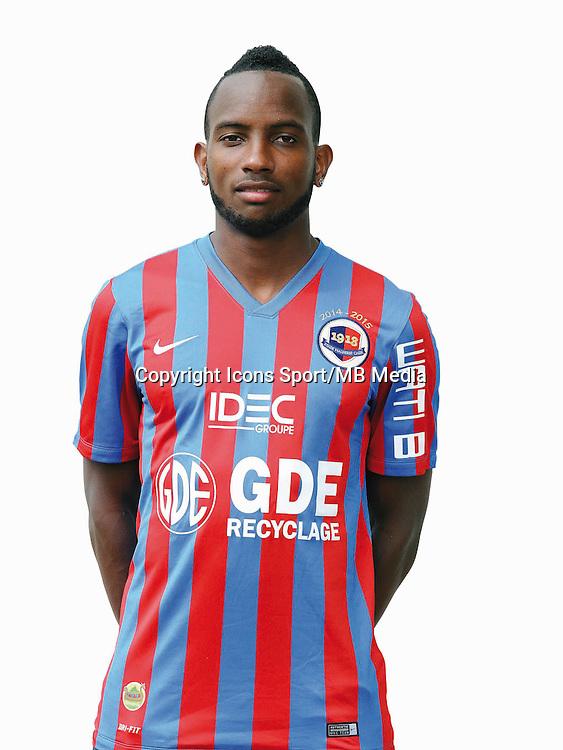 Lenny NANGIS - 17.09.2014 - Portrait officiel - Caen - Ligue 1<br /> Photo : Icon Sport
