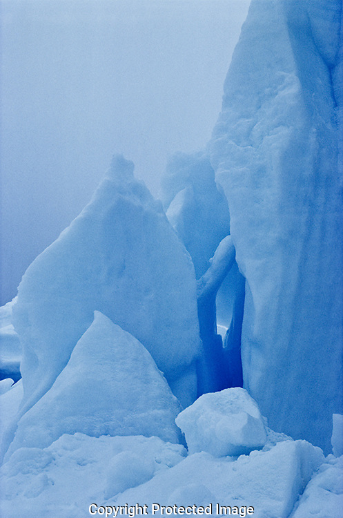 Antarctic Ice Fall