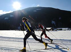 22.01.2011, Loipe Obertilliach, Obertilliach, AUT, 10. Dolomiten Classicrace, im Bild Langlauf Feature Dolomitenlauf// EXPA Pictures © 2011, PhotoCredit: EXPA/ M. Gruber