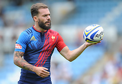 Terry Bouhraoua of France - Photo mandatory by-line: Dougie Allward/JMP - Mobile: 07966 386802 - 11/07/2015 - SPORT - Rugby - Exeter - Sandy Park - European Grand Prix 7s