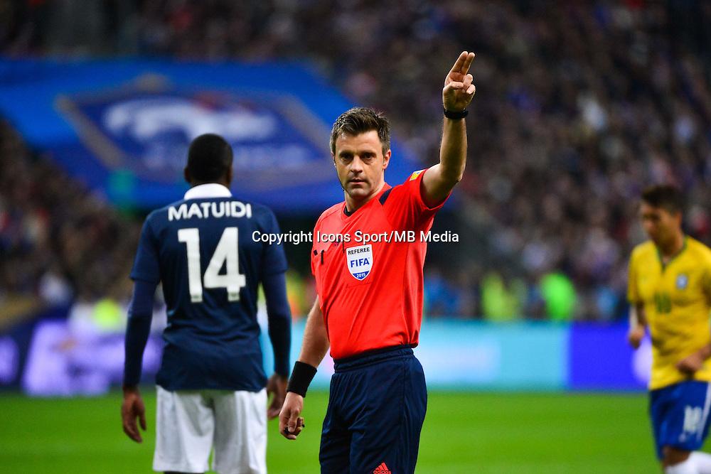 Nicola RIZZOLI - 26.03.2015 - France / Bresil - Match Amical<br />Photo : Dave Winter / Icon Sport