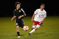 Boys Varsity Soccer Laconia versus Kennett October 12, 2010.