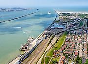 Nederland, Zuid-Holland, Hoek van Holland, 10-06-2015;<br /> <br /> QQQ<br /> luchtfoto (toeslag op standard tarieven);<br /> aerial photo (additional fee required);<br /> copyright foto/photo Siebe Swart