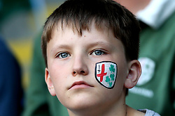 London Irish fans - Mandatory by-line: Robbie Stephenson/JMP - 24/05/2017 - RUGBY - Madejski Stadium - Reading, England - London Irish v Yorkshire Carnegie - Greene King IPA Championship Final 2nd Leg
