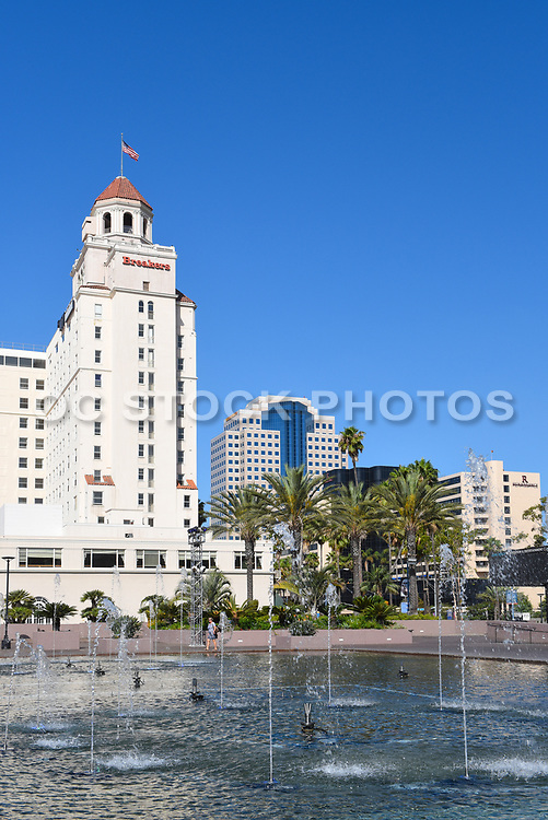 The Breakers Building In Downtown Long Beach California