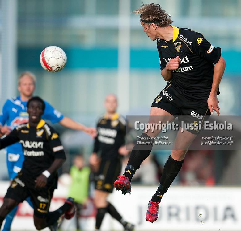 Hermanni Vuorinen. Honka - Tampere United. TamU. Veikkausliiga. Espoo 20.6.2010. Photo: Jussi Eskola