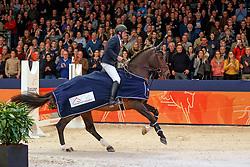 Big Star<br /> KWPN Stallionshow - 's Hertogenbosch 2018<br /> © Hippo Foto - Dirk Caremans<br /> 01/02/2018