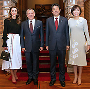 Queen Rania & King Abdullah Visit Japan