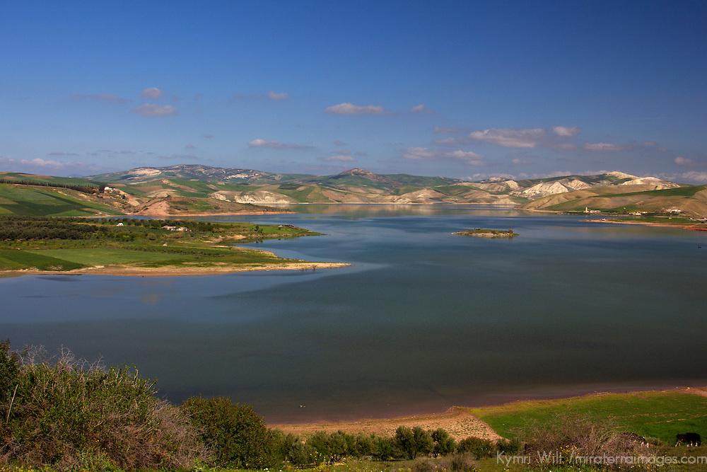North Africa, Morocco, Meknes. Landscape near Meknes.