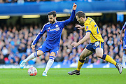 Chelsea's Cesc Fàbregas & Scunthorpe's JamieNess during the The FA Cup third round match between Chelsea and Scunthorpe United at Stamford Bridge, London, England on 10 January 2016. Photo by Shane Healey.