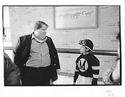 Trainer:David Monaci, Jockey: Julie Krane. Belmont, NY. 9 May 1992© Copyright Photograph by Dafydd Jones 66 Stockwell Park Rd. London SW9 0DA Tel 020 7733 0108 www.dafjones.com