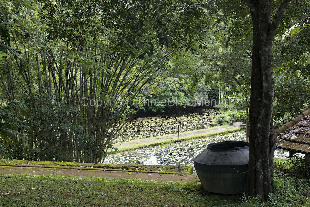 LUNUGANGA was the country home and garden of architect Geoffrey Bawa.<br />