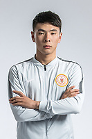 **EXCLUSIVE**Portrait of Chinese soccer player Zhang Yufeng of Beijing Renhe F.C. for the 2018 Chinese Football Association Super League, in Shanghai, China, 24 February 2018.
