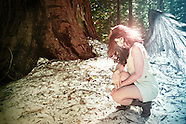2011 White Dress, Redwoods - Kristianna Kathleen