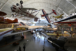 10.01.2016, Steven F. Udvar-Hazy, Chantilly, USA, National Air and Space Museum, im Bild Die Ausstellung im Steven Udvar-H·zy Center umfasst vielfaeltige Exponate aus dem Bereich Luft- und Raumfahrt. Neben Flugzeugen, Hubschraubern oder Ultraleichtflugzeugen werden beispielsweise auch Triebwerke und Flugmotoren gezeigt. Foto: Hundt/Eibner-Pressefoto // Exhibits of the American National Air and Space Museum at the Steven F. Udvar-Hazy in Chantilly, United States on 2016/01/10. EXPA Pictures © 2016, PhotoCredit: EXPA/ Eibner-Pressefoto/ Hundt<br /> <br /> *****ATTENTION - OUT of GER*****