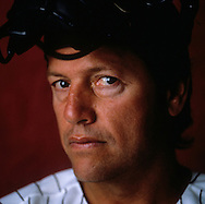 CHICAGO, IL - UNDATED: MLB Hall of Fame catcher Carlton Fisk of the Chicago White Sox poses for a portrait at Comiskey Park in Chicago, Illinois.   (Photo by Ron Vesely)
