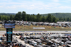 July 21, 2018 - Loudon, NH, U.S. - LOUDON, NH - JULY 21: Campers on the back stretch during practice for the Monster Energy Cup Series Foxwoods Resort Casino 301 race on July, 21, 2018, at New Hampshire Motor Speedway in Loudon, NH. (Photo by Malcolm Hope/Icon Sportswire) (Credit Image: © Malcolm Hope/Icon SMI via ZUMA Press)