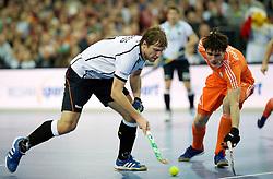 LEIZPIG - WC HOCKEY INDOOR 2015<br /> GER v NED (Semi Final 1)<br /> RESS Alessio<br /> FFU PRESS AGENCY COPYRIGHT FRANK UIJLENBROEK