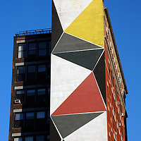 Geometry Mural Building