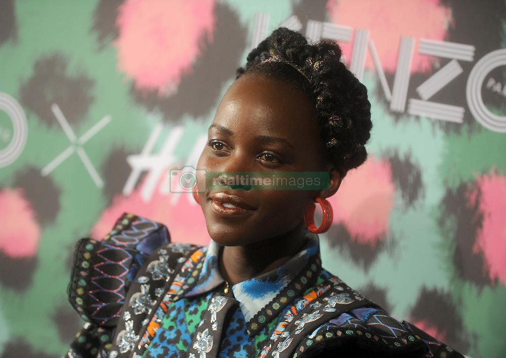 Lupita Nyong'o at KENZO x H&amp;M.<br /> (NYC)
