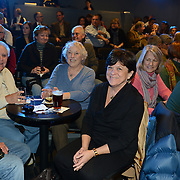 Audience members attending the Juanito Pascual New Flamenco Trio performance at The Loft in Portsmouth, NH. Nov. 2012