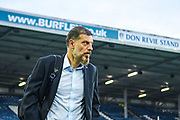 Slaven Bilic of West Bromwich Albion (Manager) arrives at the ground before the EFL Sky Bet Championship match between Leeds United and West Bromwich Albion at Elland Road, Leeds, England on 1 October 2019.