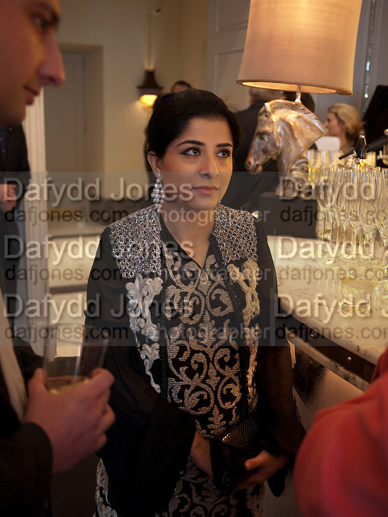 SABEEN JATOI, Henry Porter hosts a launch for Songs of Blood and Sword by Fatima Bhutto. The Artesian at the Langham London. Portland Place. 15 April 2010. *** Local Caption *** -DO NOT ARCHIVE-© Copyright Photograph by Dafydd Jones. 248 Clapham Rd. London SW9 0PZ. Tel 0207 820 0771. www.dafjones.com.<br /> SABEEN JATOI, Henry Porter hosts a launch for Songs of Blood and Sword by Fatima Bhutto. The Artesian at the Langham London. Portland Place. 15 April 2010.