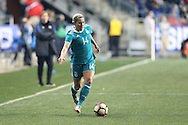 CHESTER, PA - MARCH 01: Anna Blasse (GER). The United States Women's National Team played the Germany Women's National Team as part of the She Believes Cup on March 1, 2017, at Talen Engery Stadium in Chester, PA. The United States won the game 1-0.