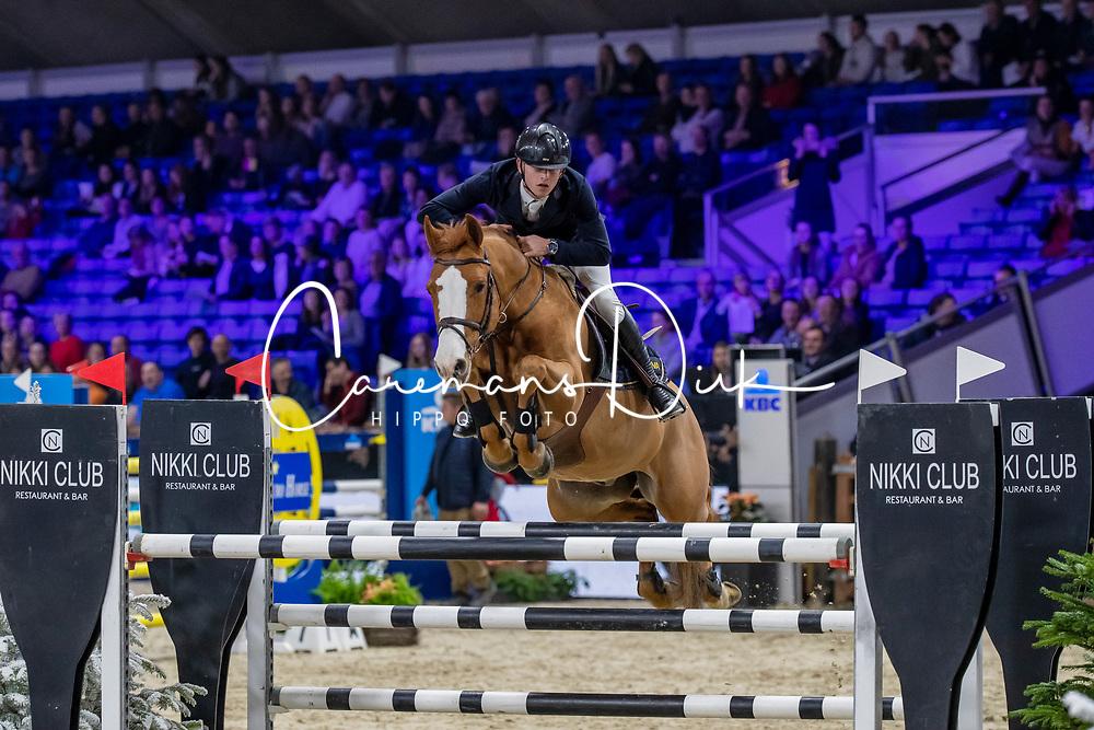 Prouvé Tim, BEL, Hocus Pocus van de Lucashoeve<br /> Jumping Mechelen 2019<br /> © FEI/Dirk Caremans<br />  30/12/2019